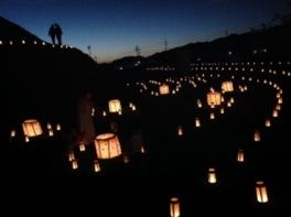 市尾墓山燈火会