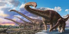 ルヤンゴサウルスの環境復元画
