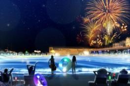ラグーナの夏の夜が変わる!大人のためのラグジュアリーな空間 「ナイトプール」