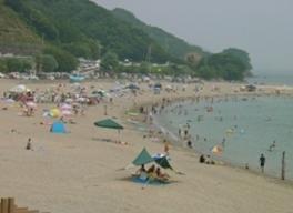 【海水浴】大砂海水浴場