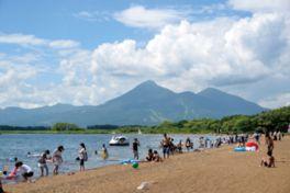 猪苗代志田浜湖水浴場