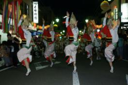 みなと祭(おどり大会・花火大会)
