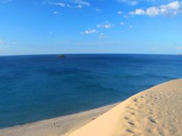 絶景が広がる海水浴場