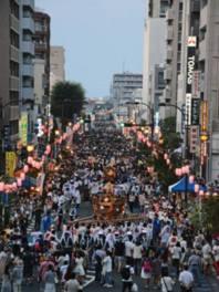 志木の夏祭り 敷島神社祭典