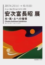 ニューコレクションシリーズ3「安次富長昭 光・風・土への憧景」