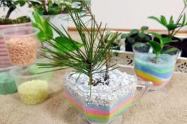キッズレジャープログラム 竜王町の木などを植えよう!マイプランターづくり