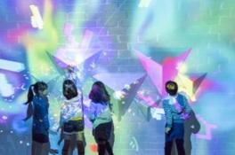 光と遊ぶ超体験型ミュージアム 魔法の美術館