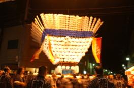 第13回しまんと市民祭(なかむら踊り・しまんと提灯台)