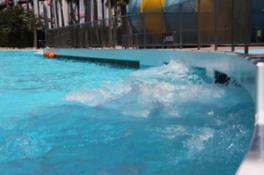 【プール】ジャンボ海水プールに激流プールが新登場!