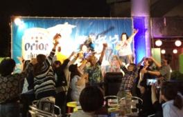 沖縄の人気アーティストなどがステージに登場