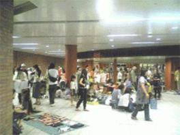 駅ナカフリマ in 馬車道駅(7月)