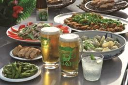 ビールと料理を思う存分堪能できる