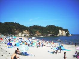 【海水浴】川尻海水浴場