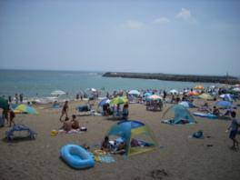 【海水浴】会瀬海水浴場