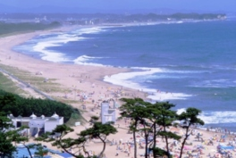【海水浴】伊師浜海水浴場