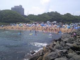 【海水浴】水木海水浴場
