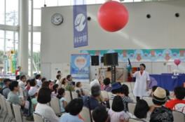 大人気のサイエンスショーは土日に開催