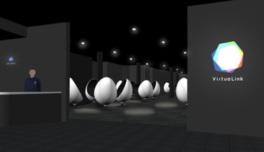 タマゴ型の宇宙船に乗って宇宙空間を楽しめるプレイ型VRサービス「VirtuaLink」