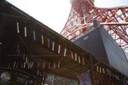 東京タワーに南部風鈴333個の涼しげな音色が響く