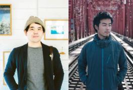 トークライブ後には、写真集『ONE DAY』を発売した濱田英明(左)によるサイン会も実施