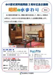 台所など懐かしい昭和の水まわりを紹介する