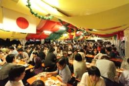 牛タン焼きや牡蠣、仙台牛、三角油揚げ、仙台マーボー焼そばなどビールとぴったりの食を楽しめる