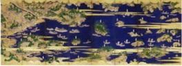 見どころは四代綱政夫人の遺品「塩竃松島図屏風」