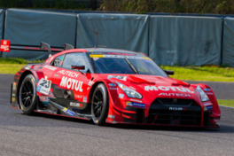 2017年シーズンのSUPER GTに参戦しているNissan GT-R NISMO GT500車両
