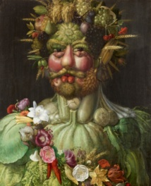 ジュゼッペ・アルチンボルド 《ウェルトゥムヌスとしての皇帝ルドルフ2世像》などを展示