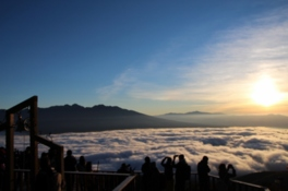 展望台からの雲海