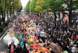 国内最大規模の仮装パレードが楽しめる「ハロウィン・パレード」