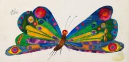 『はらぺこあおむし』が生まれてから約50年。エリック・カールはアメリカを代表する絵本作家だ