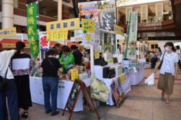 鹿児島の特産品が博多へ集結