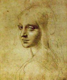 レオナルド・ダ・ヴィンチの最も美しいとされる素描「少女の頭部」が展示される