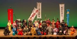 ショーの前後にはそれぞれの武将たちと握手や記念撮影などもできる
