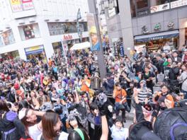 仮装パレードのあとは仮装コンテストへの参加も可能