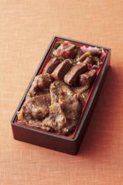 「肉のいとう」の仙台牛大関弁当2160円