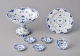 20世紀以前のデンマーク工芸で有名な「ブルーフルーテッド」