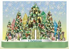 クリスマスツリーは12月25日(月)まで見ることができる