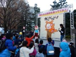 ステージでは大人から子供まで楽しめる様々なイベントを開催