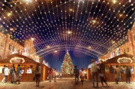 「Christmas Market in 横浜赤レンガ倉庫」ライトアップセレモニー