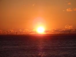 西浦半島(朝日の輝く丘)