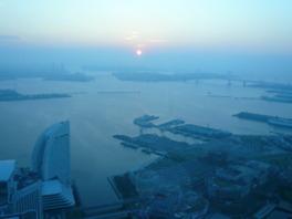 横浜ランドマークタワー69階展望フロアスカイガーデン