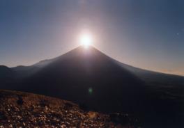 本栖湖竜ヶ岳中腹及び山頂