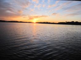 朝陽の小径