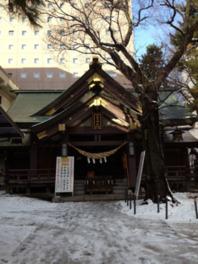 札幌市の中心地に佇む古社として親しまれている