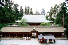 境内で最大の仏堂であり総本堂の根本中堂