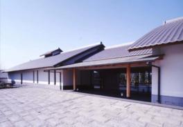 2つの展示室がある新館は1997年に開館