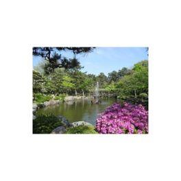 オランダ風の回遊式庭園