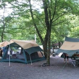 静岡市梅ケ島キャンプ場